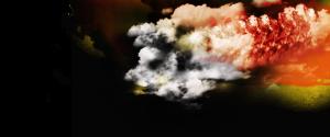 Efecto fuego y humo