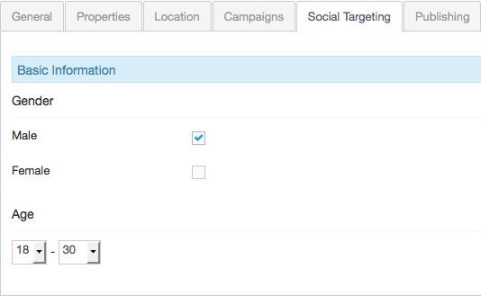 targeting admin