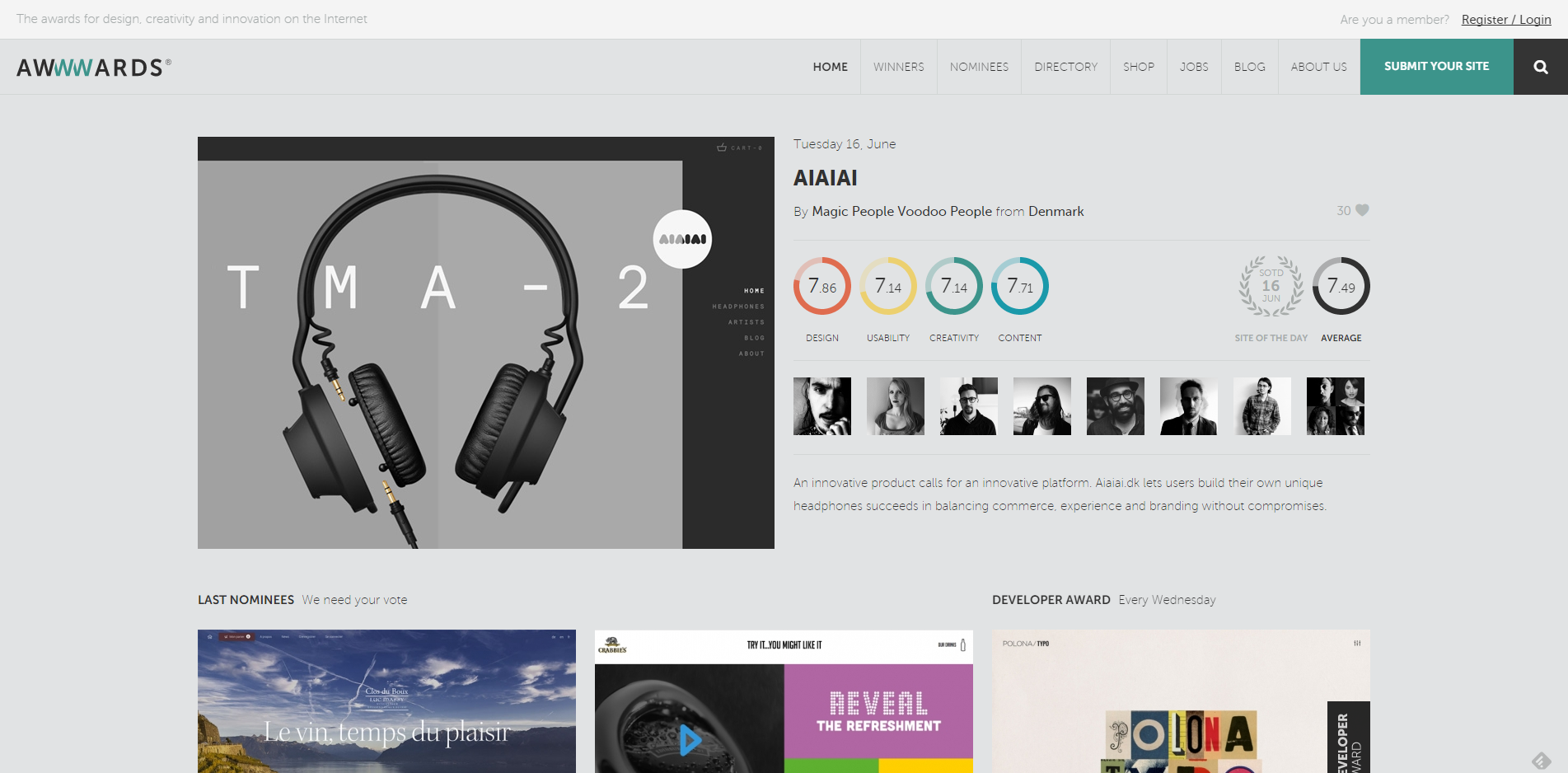 Awwwards Website Awards Best Web Design Trends