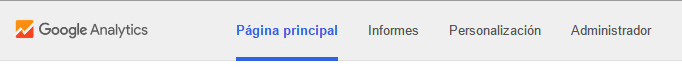google analytics logo antigua funcionalidad