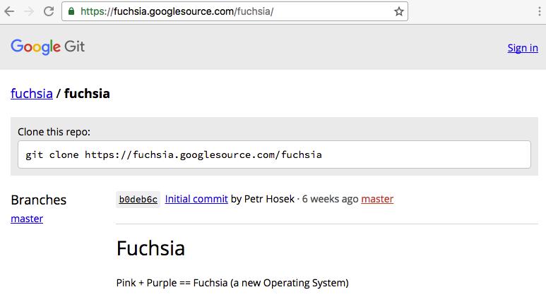 qué es google fuchsia