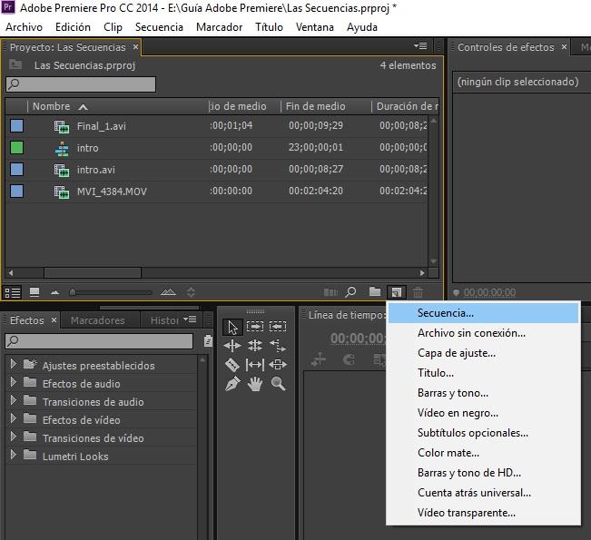 Crear secuencias 3_6