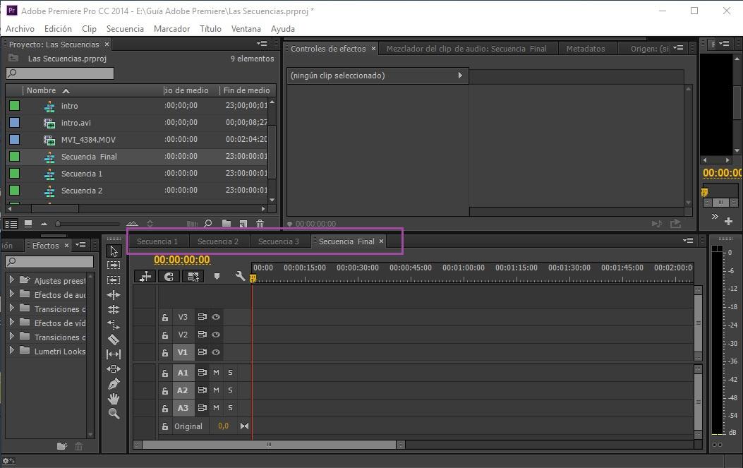 Crear secuencias 3_8