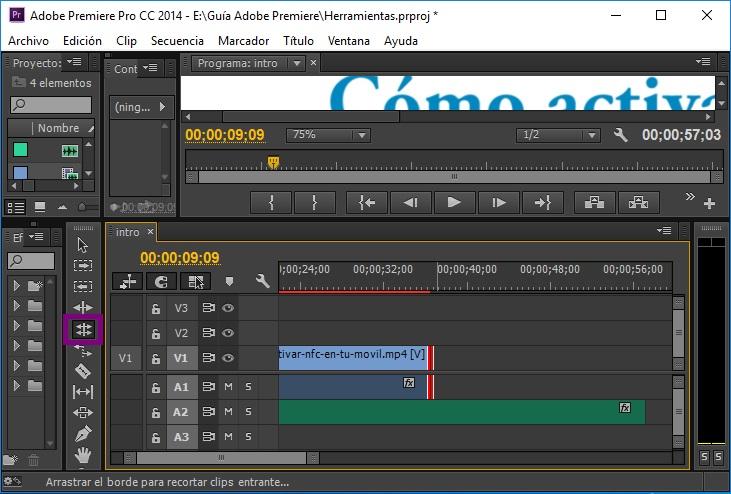 herramienta adobe editar desplazamiento