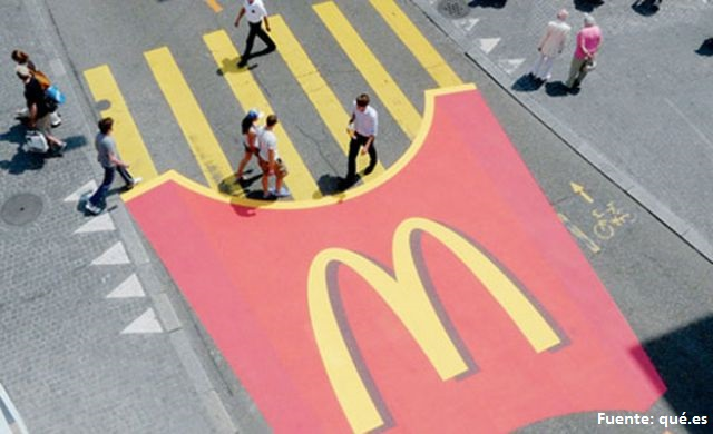 marketing experiencial mcdonalds