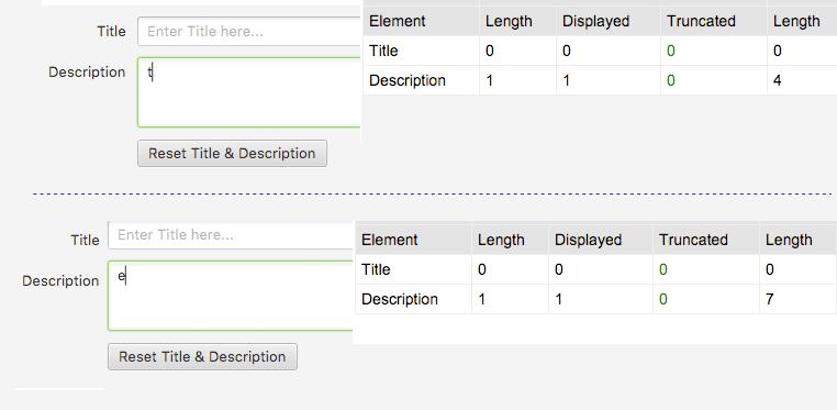 pixeles caracteres meta descripciones